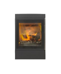 Jydepejsen – Wall Mounted Cubic Closed Combustion Fireplace