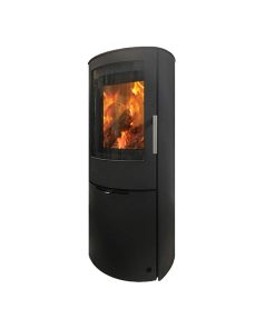 Jydepejsen-–-Mido-Steel-Black---Closed-combustion-Fireplace