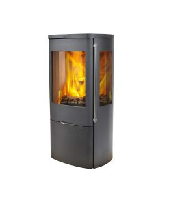 Jydepejsen-–-Sensa-With-Side-Glass---Closed-combustion-Fireplace